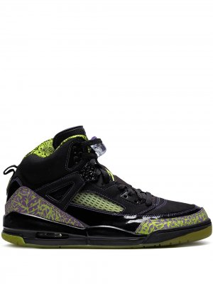 Кроссовки Spizike Jordan. Цвет: черный