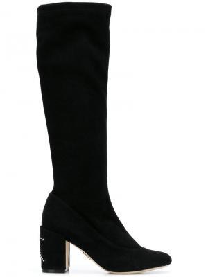 Knee high boots Rodo. Цвет: черный