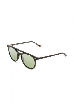 Очки солнцезащитные с линзами ITALIA INDEPENDENT. Цвет: 009 btt черный