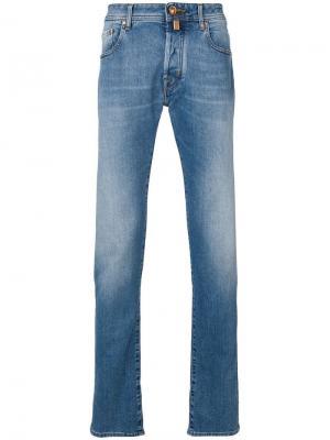 Straight leg jeans Jacob Cohen. Цвет: синий