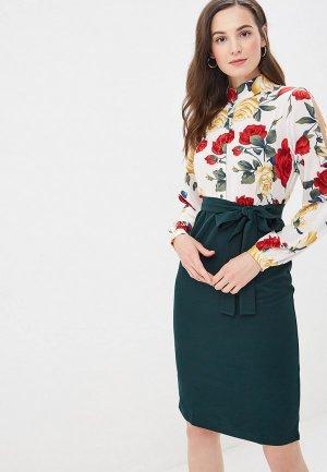 Платье Adzhedo. Цвет: зеленый