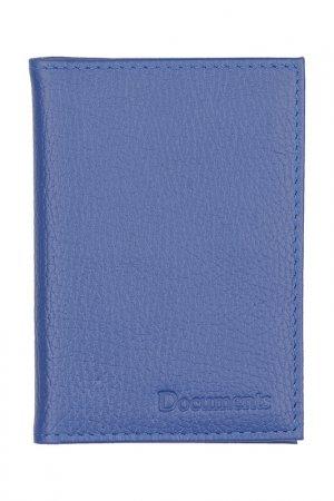 Обложка для паспорта KIN. Цвет: электрик