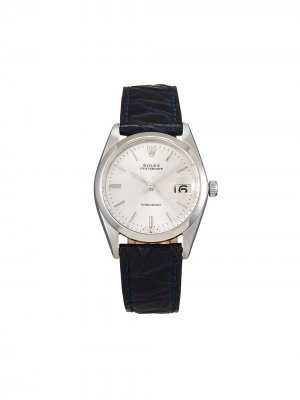 Наручные часы Oysterdate Precision pre-owned 34 мм 1964-го года Rolex. Цвет: серебристый