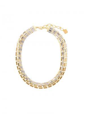 Starlight multi-layer necklace Ca&Lou. Цвет: металлик