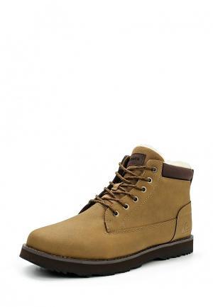 Ботинки Quiksilver. Цвет: коричневый