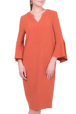 Платье MONTEBELLUNA. Цвет: оранжевый