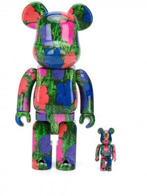 Игрушка Flowers из коллаборации с Andy Warhol Medicom Toy. Цвет: синий