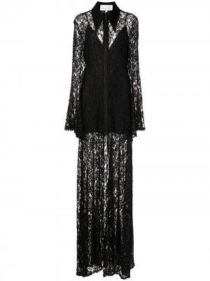 Вечернее платье Natasha Zinko. Цвет: черный