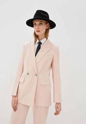 Пиджак Laurel. Цвет: розовый