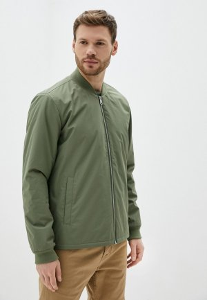 Куртка утепленная Matinique. Цвет: хаки