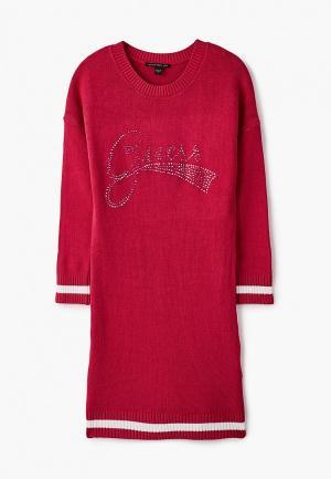 Платье Guess. Цвет: розовый
