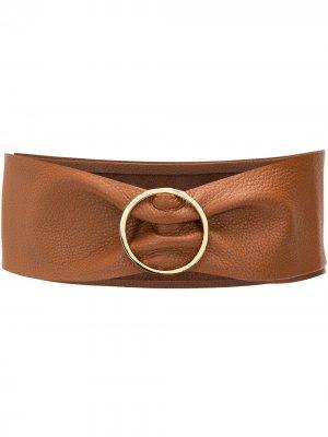Ремень с пряжкой B-Low The Belt. Цвет: коричневый