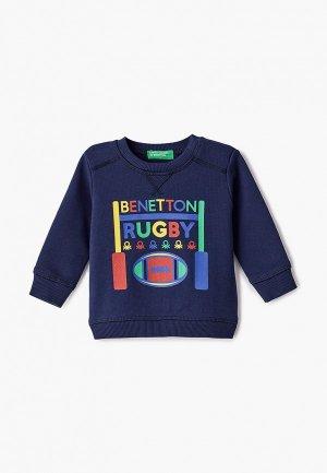 Свитшот United Colors of Benetton. Цвет: синий
