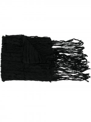 Шаль Shrinking Yohji Yamamoto. Цвет: черный