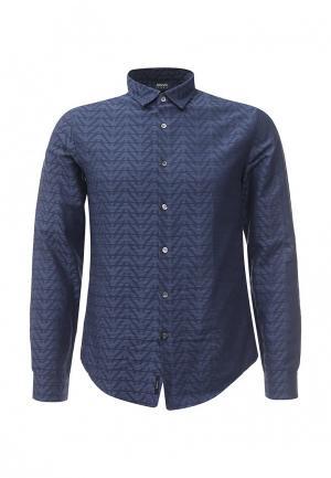 Рубашка Armani Jeans. Цвет: синий
