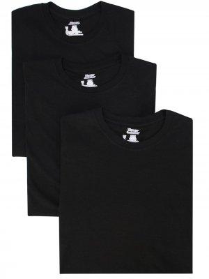 Комплект футболок Hanes Supreme. Цвет: черный
