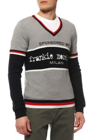 Пуловер Frankie Morello. Цвет: цветной