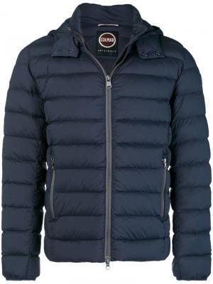 Padded longsleeved jacket Colmar. Цвет: синий