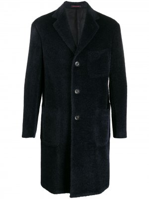 Однобортное пальто Rigell The Gigi. Цвет: синий