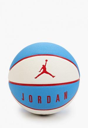 Мяч баскетбольный Nike. Цвет: голубой
