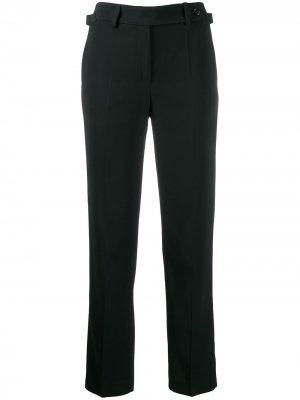 Строгие брюки прямого кроя RED Valentino. Цвет: коричневый