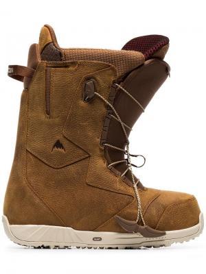 Сапоги для сноуборда Burton Ak. Цвет: коричневый