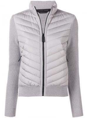 Стеганая куртка Canada Goose. Цвет: серый