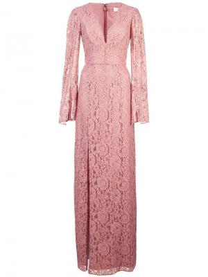 Платье Viv Zac Posen. Цвет: розовый