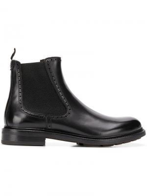 Ботинки челси Salvatore Ferragamo. Цвет: черный