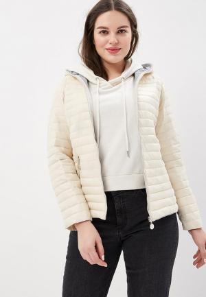 Куртка утепленная Z-Design. Цвет: белый