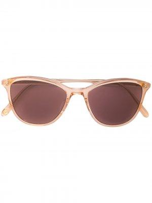 Солнцезащитные очки Magician в оправе кошачий глаз Garrett Leight. Цвет: коричневый