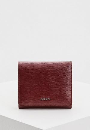 Кошелек DKNY. Цвет: бордовый
