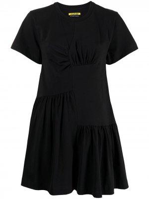 MarquesAlmeida платье со сборками Marques'Almeida. Цвет: черный