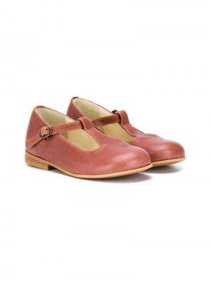 Туфли Мэри Джейн Pèpè. Цвет: коричневый