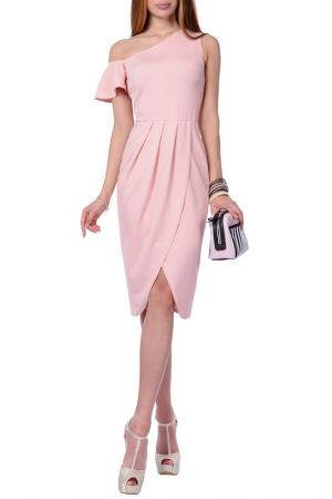 Платье FRANCESCA LUCINI. Цвет: персиковый