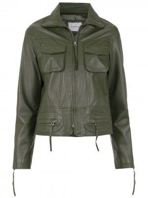 Куртка Arcadio Olympiah. Цвет: зеленый