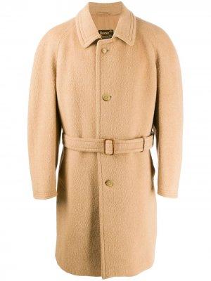 Однобортное пальто 1980-х годов A.N.G.E.L.O. Vintage Cult. Цвет: beige