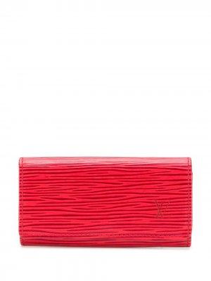Футляр для ключей Épi 1990-х годов pre-owned Louis Vuitton. Цвет: красный