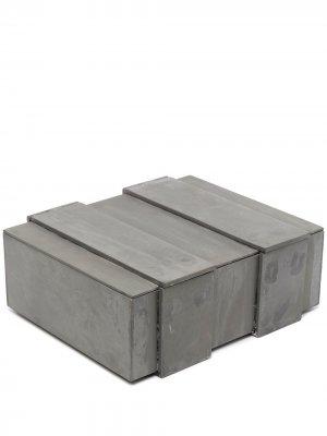Шкатулка Box-1 Parts of Four. Цвет: серый