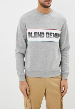 Свитшот Blend. Цвет: серый