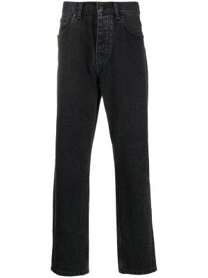 Зауженные джинсы Newel Relaxed Carhartt WIP. Цвет: черный