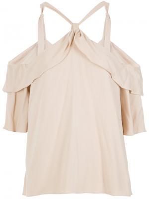 Could shoulder blouse Olympiah. Цвет: нейтральные цвета