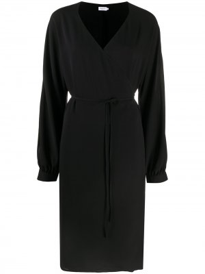 Платье миди Willa с завязками Filippa K. Цвет: черный