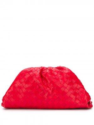 Клатч  Pouch Bottega Veneta. Цвет: красный