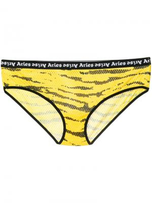 Трусы Tiger Aries. Цвет: жёлтый и оранжевый