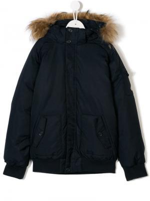 TEEN hooded padded jacket Pyrenex Kids. Цвет: синий