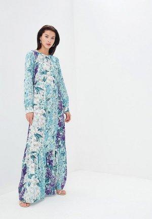 Платье Blugirl Folies. Цвет: разноцветный