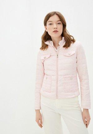 Куртка утепленная B.Style. Цвет: розовый