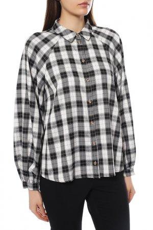 Блуза NUMPH. Цвет: черный