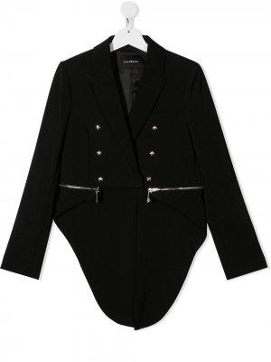 Куртка-пиджак John Richmond Junior. Цвет: черный